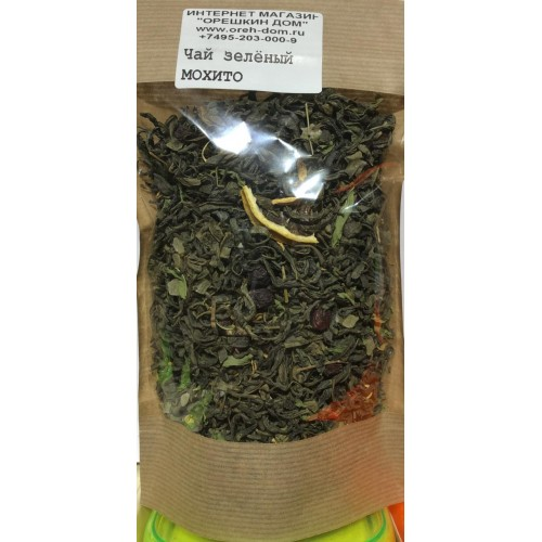 Чай зеленый «Мохито»