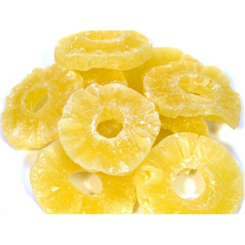 Ананасы в сахаре (кольца), 1 кг