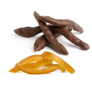Апельсиновые корочки в шоколаде