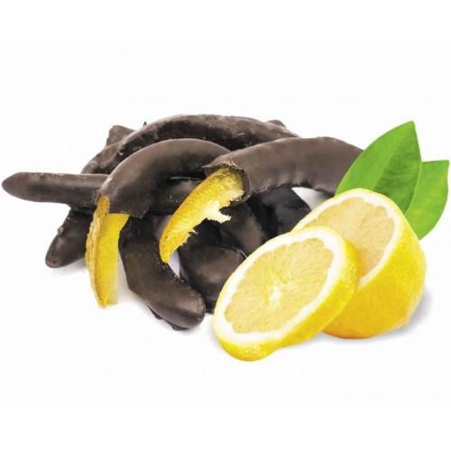 Лимонные корочки в тёмном шоколаде