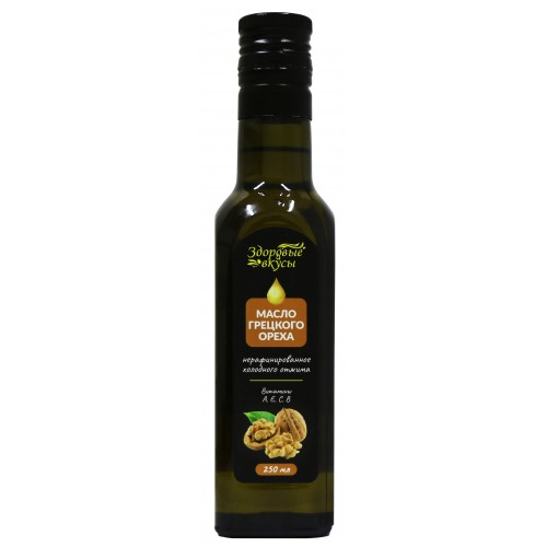 Масло грецкого ореха Здоровые Вкусы