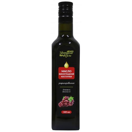 Масло виноградной косточки Здоровые вкусы